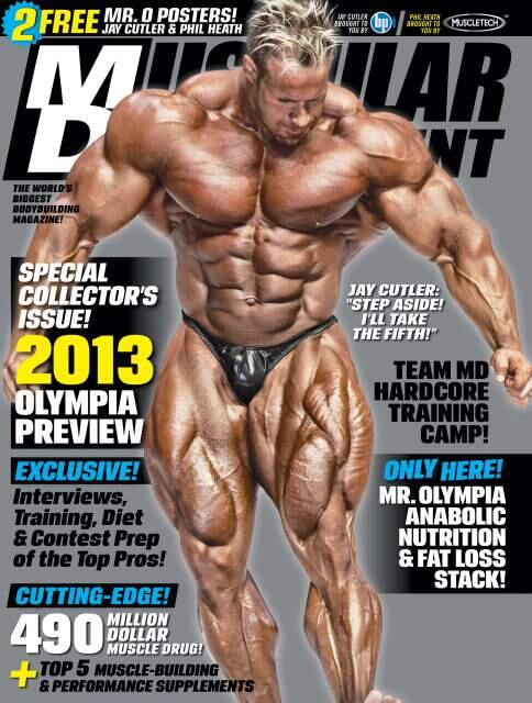 Jay Cutler on the cover of the new Muscular Development Magazine- Can You  Say  5  4817abbbb