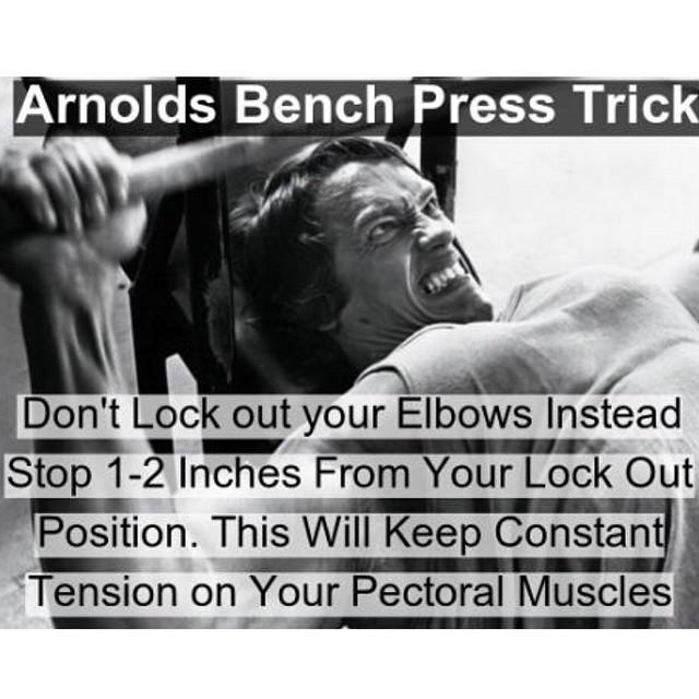 Chest Day Tips From Arnold Schwarzenegger